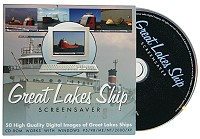 Great Lakes Ship Screensaver
